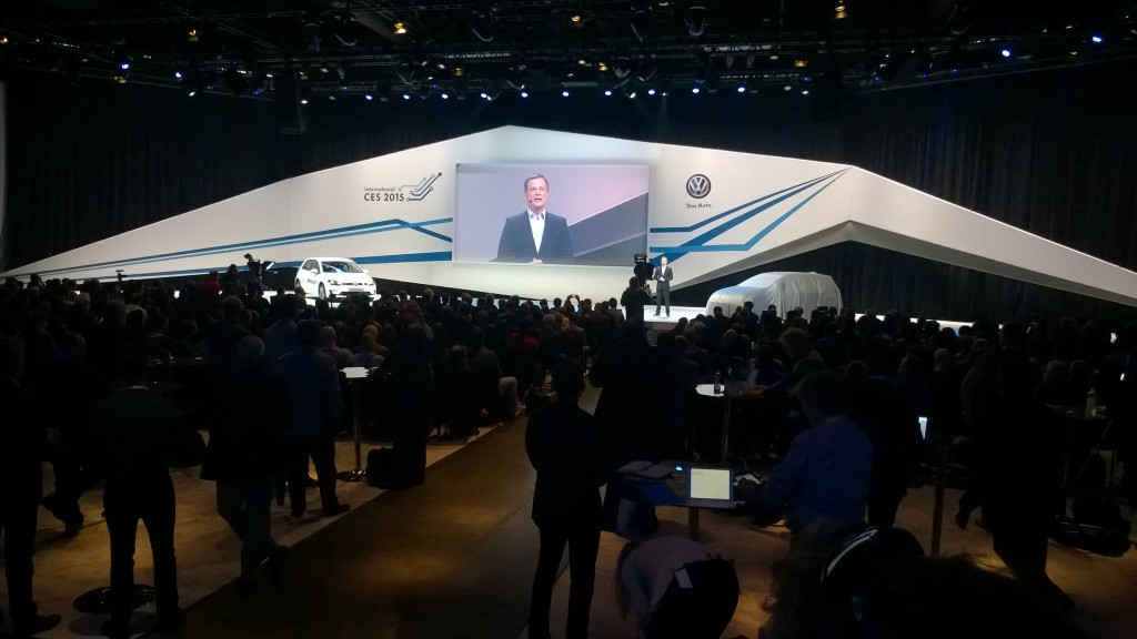 VW Messe Las Vegas CES 2015